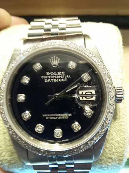 Rolex Mens 36mm Datejust