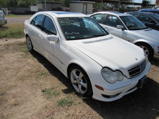 2006 Mercedes C 230 White