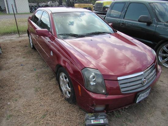 2004 Cadillac CTS Maroon