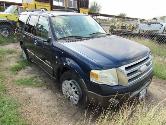 2007 Ford Expedition Blue
