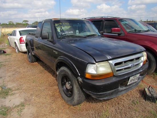 1999 Ford Ranger Pick Up Blue