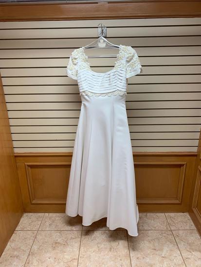 Amy Lee White Dress, Size 12