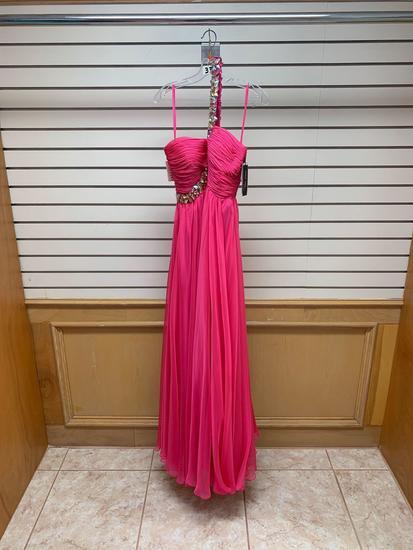 Poly USA 6798 Fushia/Pink Dress, Size L