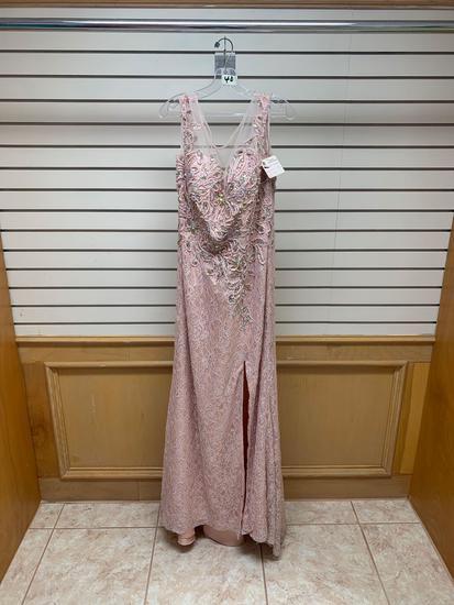 Fabuluxe GL2008 D. Rose Dress, Size 2XL