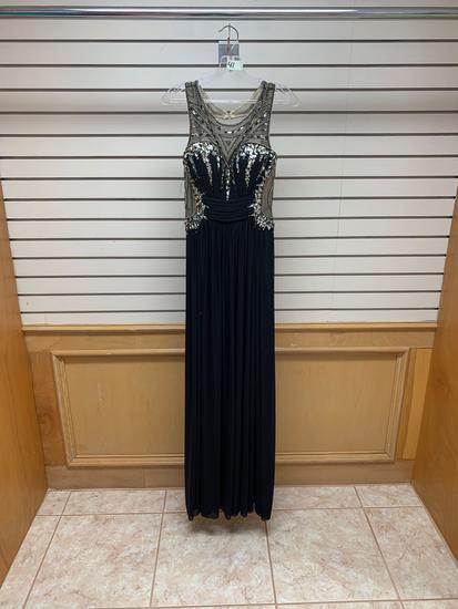 Poly USA 7082 Black Dress, Size M
