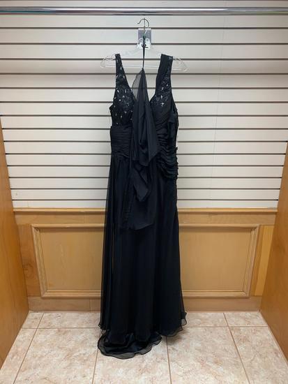 Poly USA 6230 Black Dress, Size 3XL