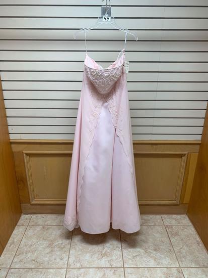 Tiffany 6503 LT Pink Dress, Size 12