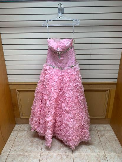 P.C. Mary's 4232 Pink Dress, Size 12