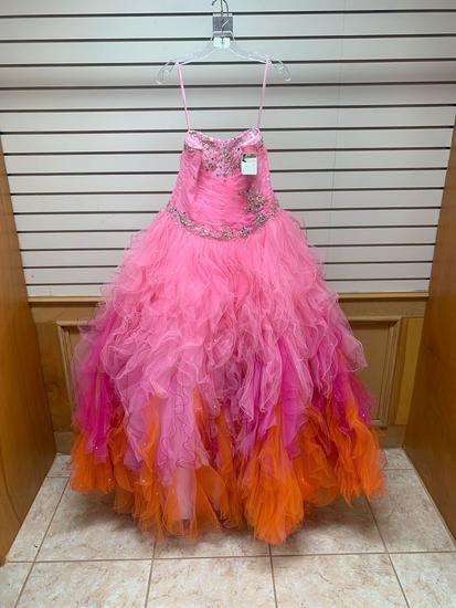 Vizcaya 88013 Pink Dress, Size 12