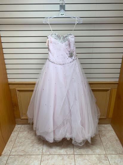 Mori Lee 88016 Ballet Pink Dress, Size 10