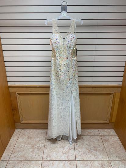 Poly USA 7004 Silver Dress, Size XL