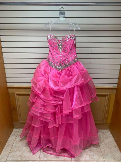 Quince Collection 26578 Pink Dress, Size 12