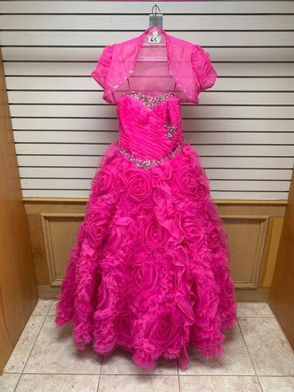 ??? 88029 Pink Dress, Size 10