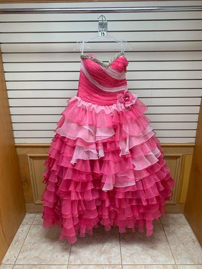 Da Vinci Pink Dress, Size 12