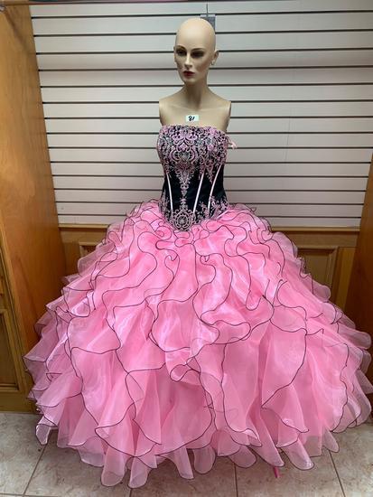 Princess Black/Pink Dress, Size ??