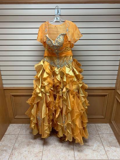 P.C. Mary's 4Q850 Sunset Dress, Size 12