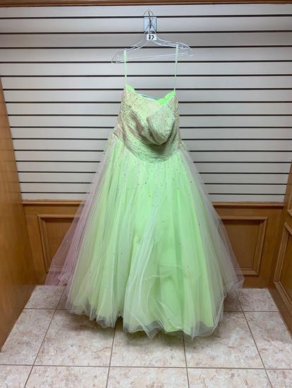 Mori Lee 81560 Lemon Dress, Size 12