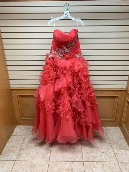 P.C. Mary's 4235 Watermelon Dress, Size 12