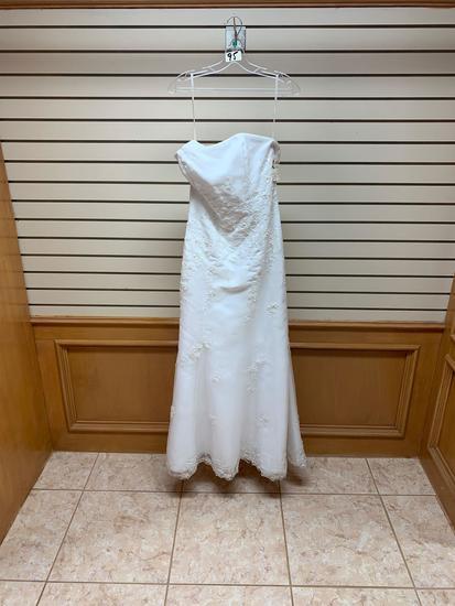 Symphony Brider 1502 White Dress, Size 12