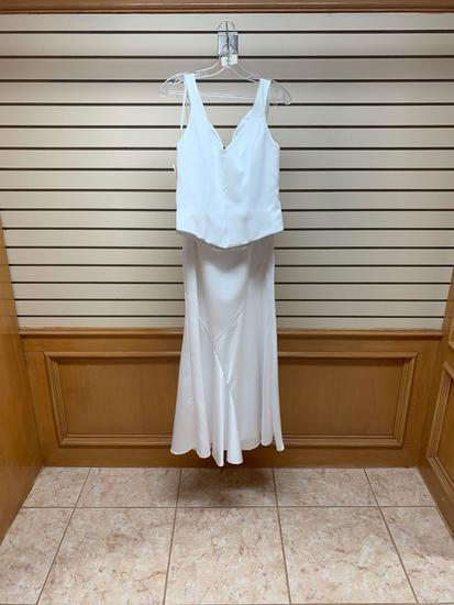 Mary's M1718 White Dress, Size 12