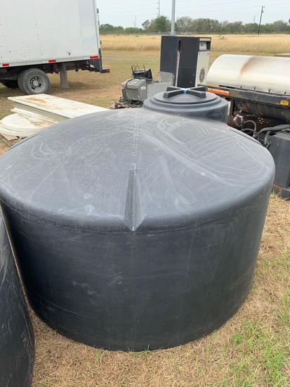 500 Gallon Black Nurse Tank