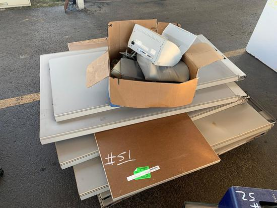 boards and box