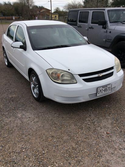 2010 Chevrolet Cobalt Passenger Car, VIN # 1G1AF5F56A7194182