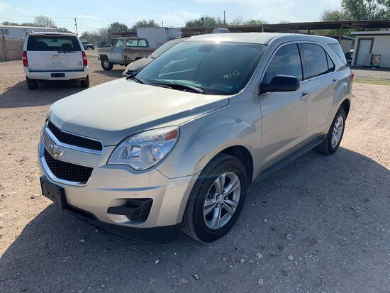 2014 Chevrolet Equinox Multipurpose Vehicle (MPV), VIN # 2GNFLEEK1E6174626