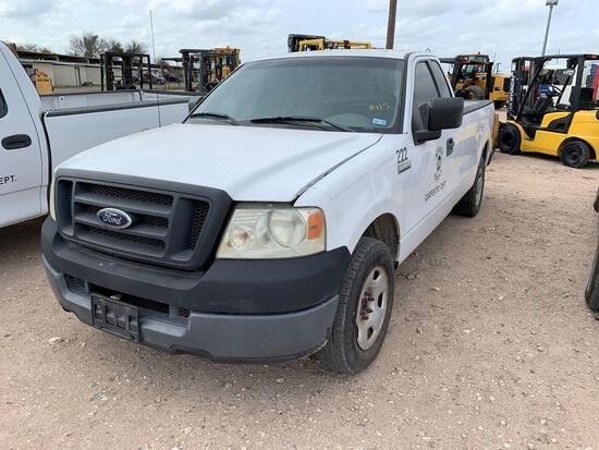 2005 Ford F-150 Pickup Truck, VIN # 1FTRF12295NB49558