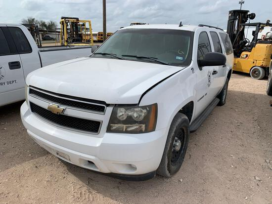 2007 Chevrolet Suburban Multipurpose Vehicle (MPV), VIN # 1GNFC16057R398589