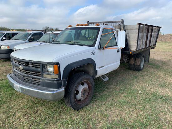 1996 Chevrolet C1500 Pickup Truck, VIN # 1GCEC19M6TE265425