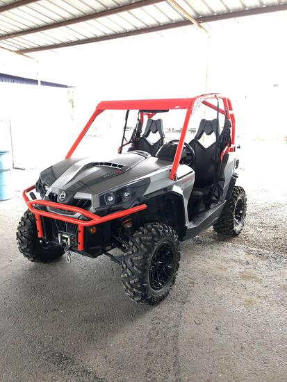 2018 can am Commander XT 800R