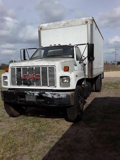 1994 GMC C6000 Topkick Truck, VIN # 1GDJ6H1P6RJ502480