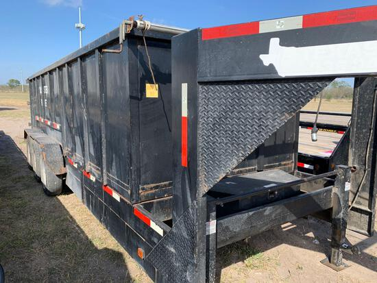 2014 TEXAS PRIDE TRIPLE AXEL END DUMP TRAILER