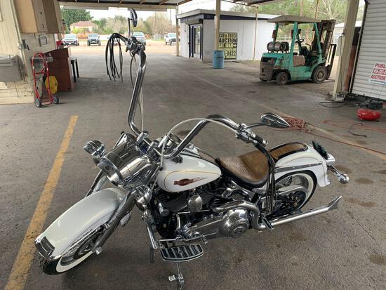 2008 Harley-Davidson FLSTCI Motorcycle, VIN # 1HD1BW5128Y026419