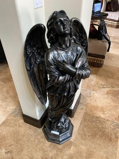 decorative angel statue