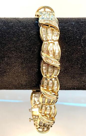 Bracelet 10K yellow gold