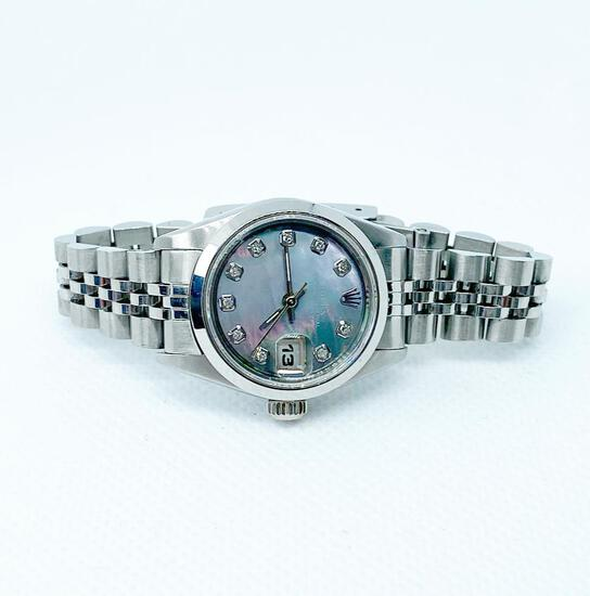 Ladies Rolex *Datejust *26mm *Oyster with Diamonds *Jubilee