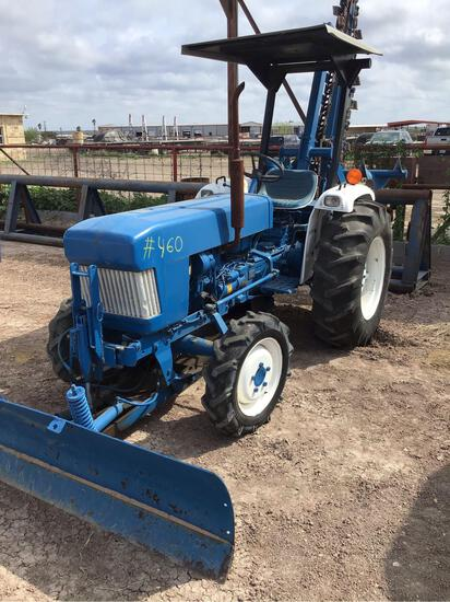 Ford Tractor/Trencher with Front Blade, Srl# UP01505