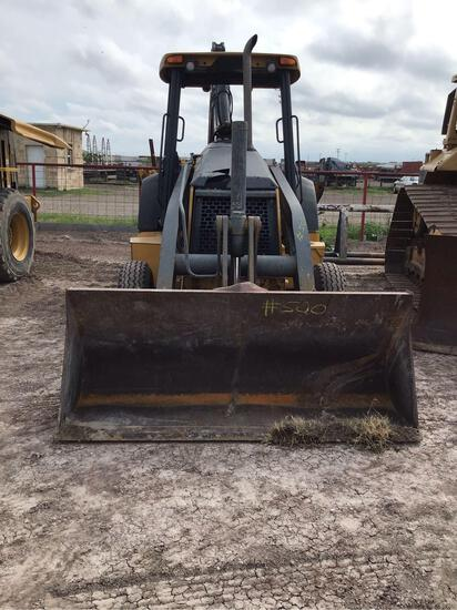 3032 JD Tractor with Loader & with Frontier Shredder
