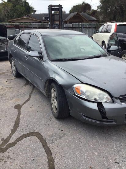 2007 Chevrolet Impala Passenger Car, VIN # 2G1WB58K579253394