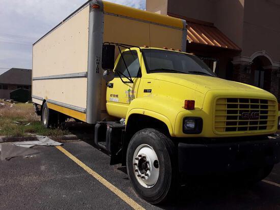 2001 GMC C7500 Truck, VIN # 1GDJ7H1E71J900684