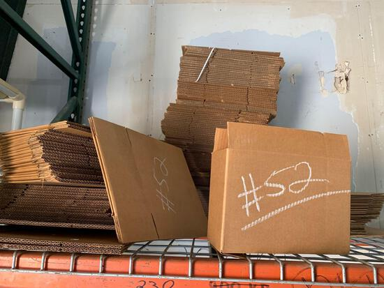 """over 50, 4"""" x 8"""" shipping boxes"""