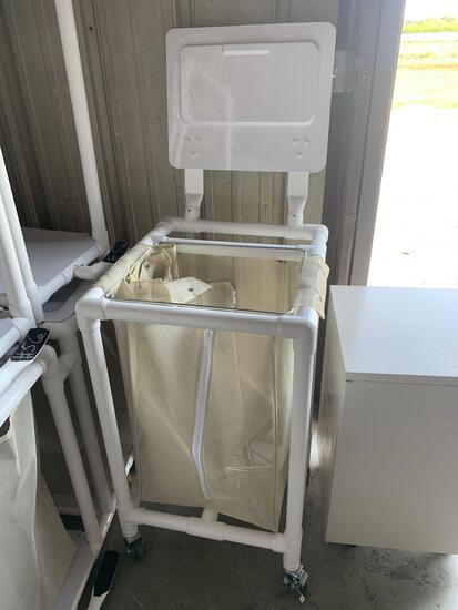 (4) PVC custom hampers