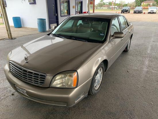 2004 Cadillac Deville Passenger Car, VIN # 1G6KD54Y74U250864 (TEXAS TITLE)