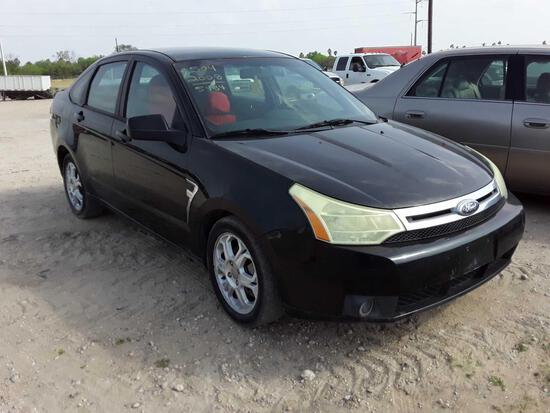 2008 Ford Focus Passenger Car, VIN # 1FAHP35N08W217793