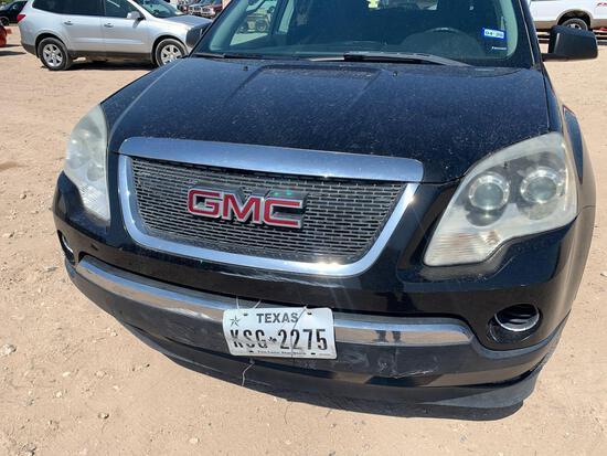 2011 GMC Acadia Multipurpose Vehicle (MPV), VIN # 1GKKVNED2BJ197578
