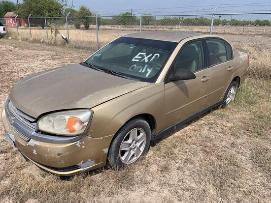 2004 Chevrolet Malibu Passenger Car, VIN # 1G1ZT52894F158119