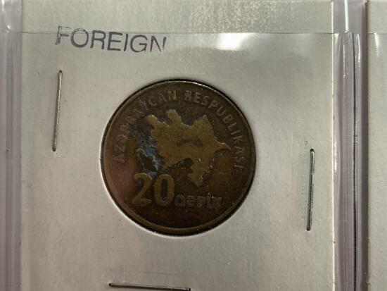 (8) Different Foreign Coins