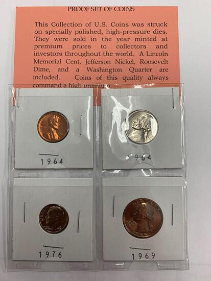 Collection U.S. Proof Set of Coins